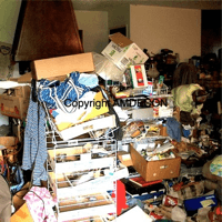 Hoarder Property Photo