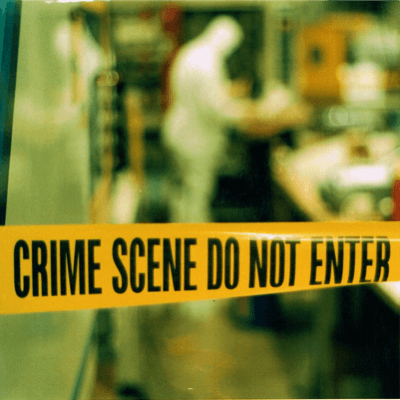 how to cleanup crime scenes