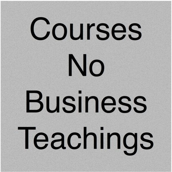 All Courses Without Business Teachings