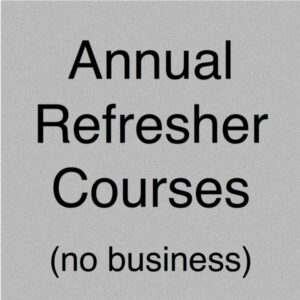 Annual Refresher Courses