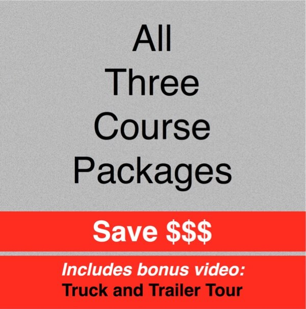 ON SALE - All Three Courses! SAVE $$$